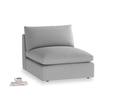 Cuddlemuffin Single Seat in Magnesium washed cotton linen