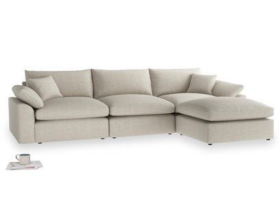 Cuddlemuffin chaise sofa sectional