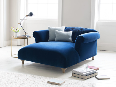 Elegant Dixie love seat chaise