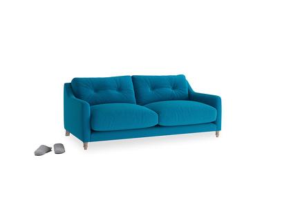 Small Slim Jim Sofa in Bermuda Brushed Cotton