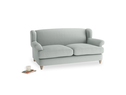 Medium Moon Jumper Sofa in French Blue Brushed Cotton