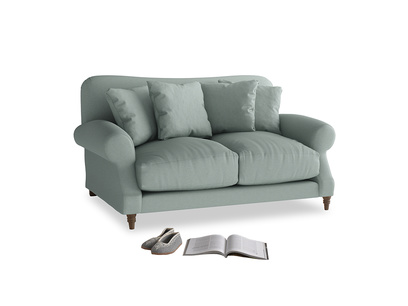 Small Crumpet Sofa in Sea fog Clever Woolly Fabric