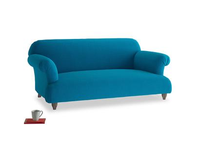 Medium Soufflé Sofa in Bermuda Brushed Cotton