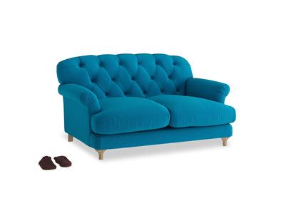 Small Truffle Sofa in Bermuda Brushed Cotton
