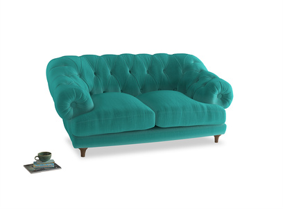 Small Bagsie Sofa in Fiji Clever Velvet