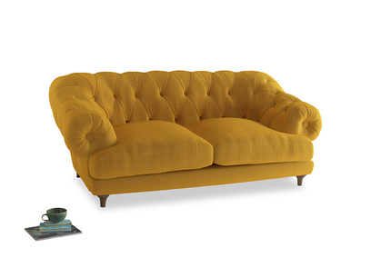 Medium Bagsie Sofa in Pollen Clever Deep Velvet