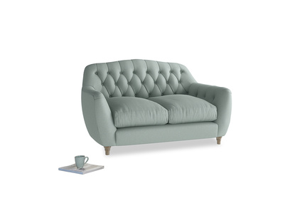 Small Butterbump Sofa in Sea fog Clever Woolly Fabric