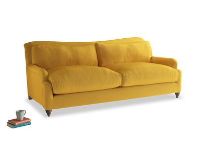 Large Pavlova Sofa in Pollen Clever Deep Velvet