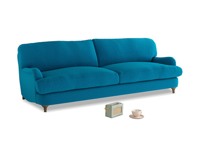 Large Jonesy Sofa in Bermuda Brushed Cotton