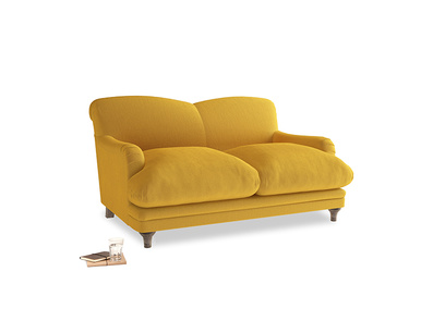 Small Pudding Sofa in Pollen Clever Deep Velvet