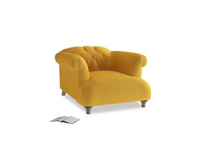 Dixie Armchair in Pollen Clever Deep Velvet