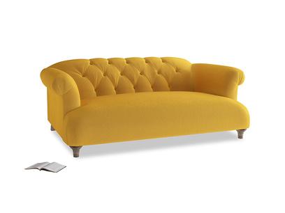 Medium Dixie Sofa in Pollen Clever Deep Velvet