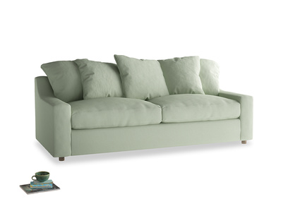Large Cloud Sofa in Powder green Clever Linen