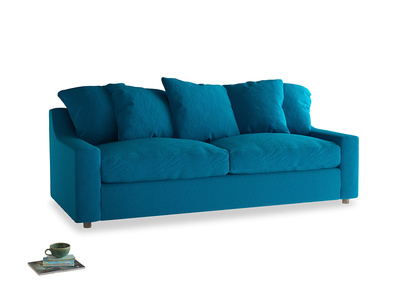 Large Cloud Sofa Bed in Bermuda Brushed Cotton