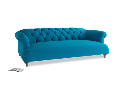 Large Dixie Sofa in Bermuda Brushed Cotton