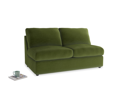 Chatnap Sofa Bed in Good green Clever Deep Velvet