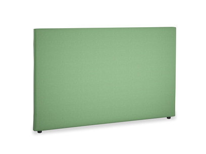Superking Piper Headboard in Clean green Brushed Cotton