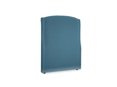 Single Dazzler Headboard in Old blue Clever Deep Velvet