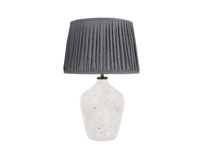 Small Brekka Table Lamp with Graphite shade