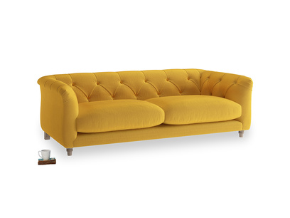Medium Boho Sofa in Pollen Clever Deep Velvet