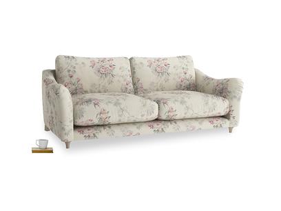 Large Bumpster Sofa in Pink vintage rose