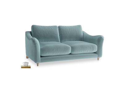 Medium Bumpster Sofa in Lagoon clever velvet