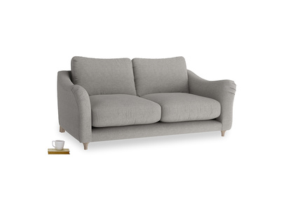 Medium Bumpster Sofa in Marl grey clever woolly fabric