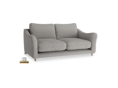 Medium Bumpster Sofa in Marl grey clever woolly fabric