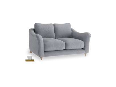 Small Bumpster Sofa in Dove grey wool