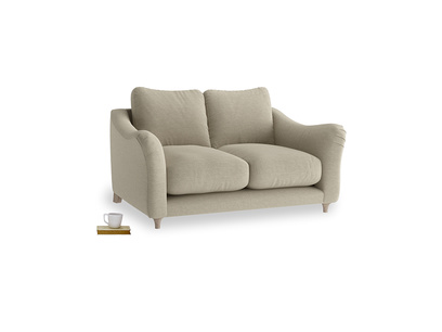 Small Bumpster Sofa in Jute vintage linen