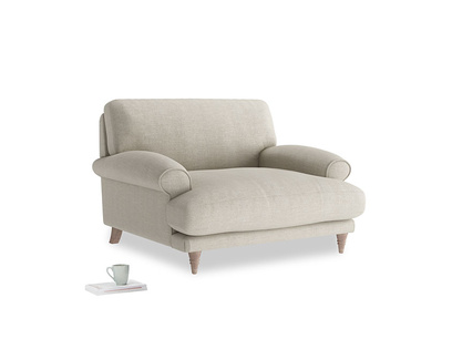 Slowcoach love seat thin base sofa