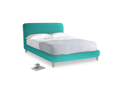 Double Cookie Bed in Fiji Clever Velvet