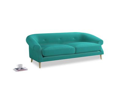 Large Schnaps Sofa in Fiji Clever Velvet
