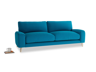 Medium Strudel Sofa in Bermuda Brushed Cotton