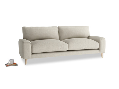Medium Strudel Sofa in Thatch house fabric