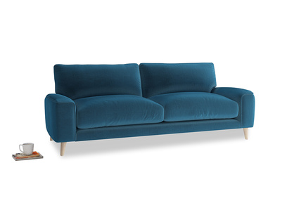 Medium Strudel Sofa in Twilight blue Clever Deep Velvet