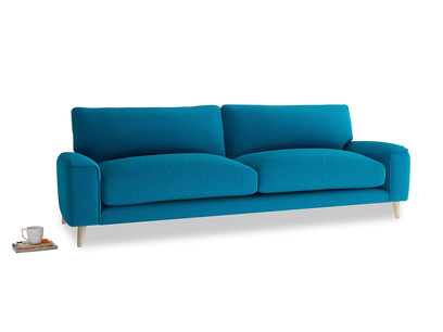 Large Strudel Sofa in Bermuda Brushed Cotton