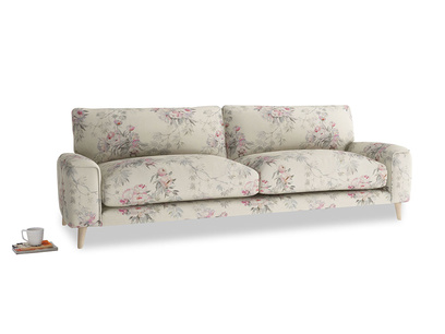 Large Strudel Sofa in Pink vintage rose