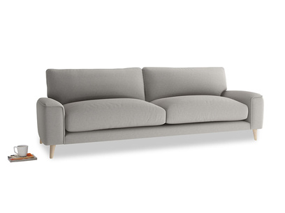 Large Strudel Sofa in Wolf brushed cotton