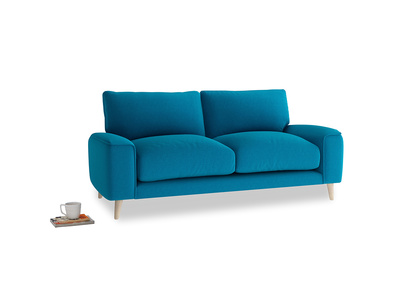 Small Strudel Sofa in Bermuda Brushed Cotton
