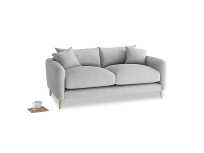 Small Squishmeister Sofa in Cobble house fabric