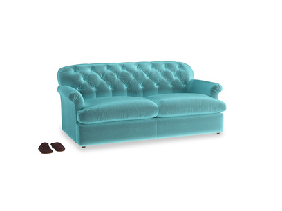 Large Truffle Sofa Bed in Belize clever velvet