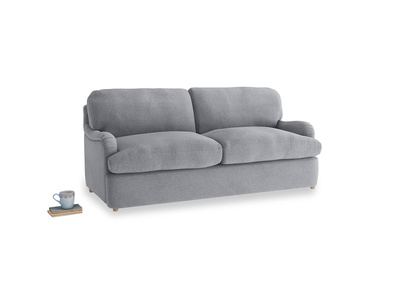 Medium Jonesy Sofa Bed in Dove grey wool