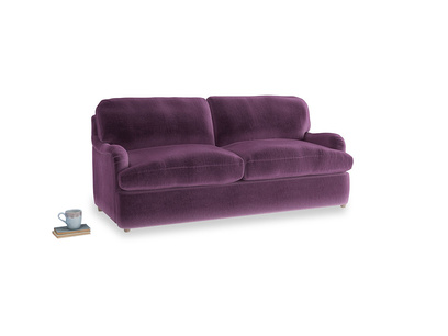 Medium Jonesy Sofa Bed in Grape clever velvet
