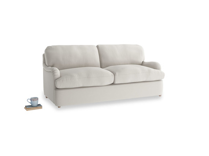 Medium Jonesy Sofa Bed in Moondust grey clever cotton