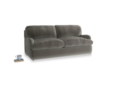 Medium Jonesy Sofa Bed in Slate clever velvet