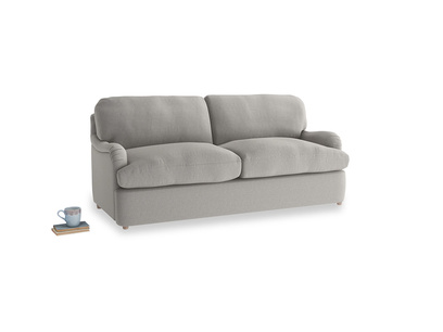 Medium Jonesy Sofa Bed in Wolf brushed cotton