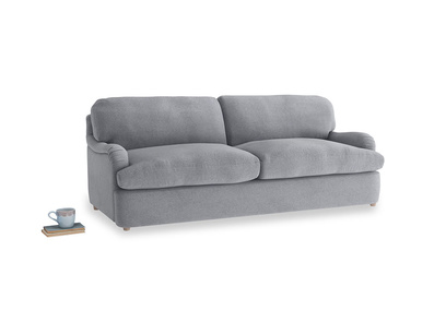 Large Jonesy Sofa Bed in Dove grey wool