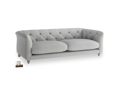 Medium Boho Sofa in Pewter Clever Softie