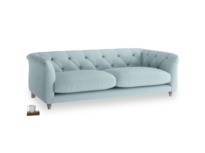 Medium Boho Sofa in Powder Blue Clever Softie